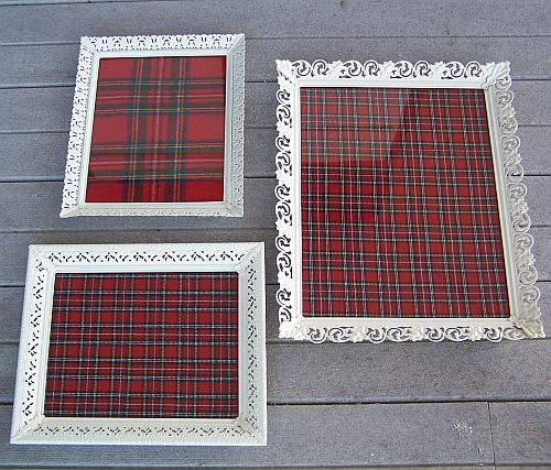 Upcycled Picture Frame Trays Home Spun Style