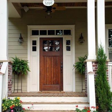 Craftsmandoor for Front door styles for ranch homes