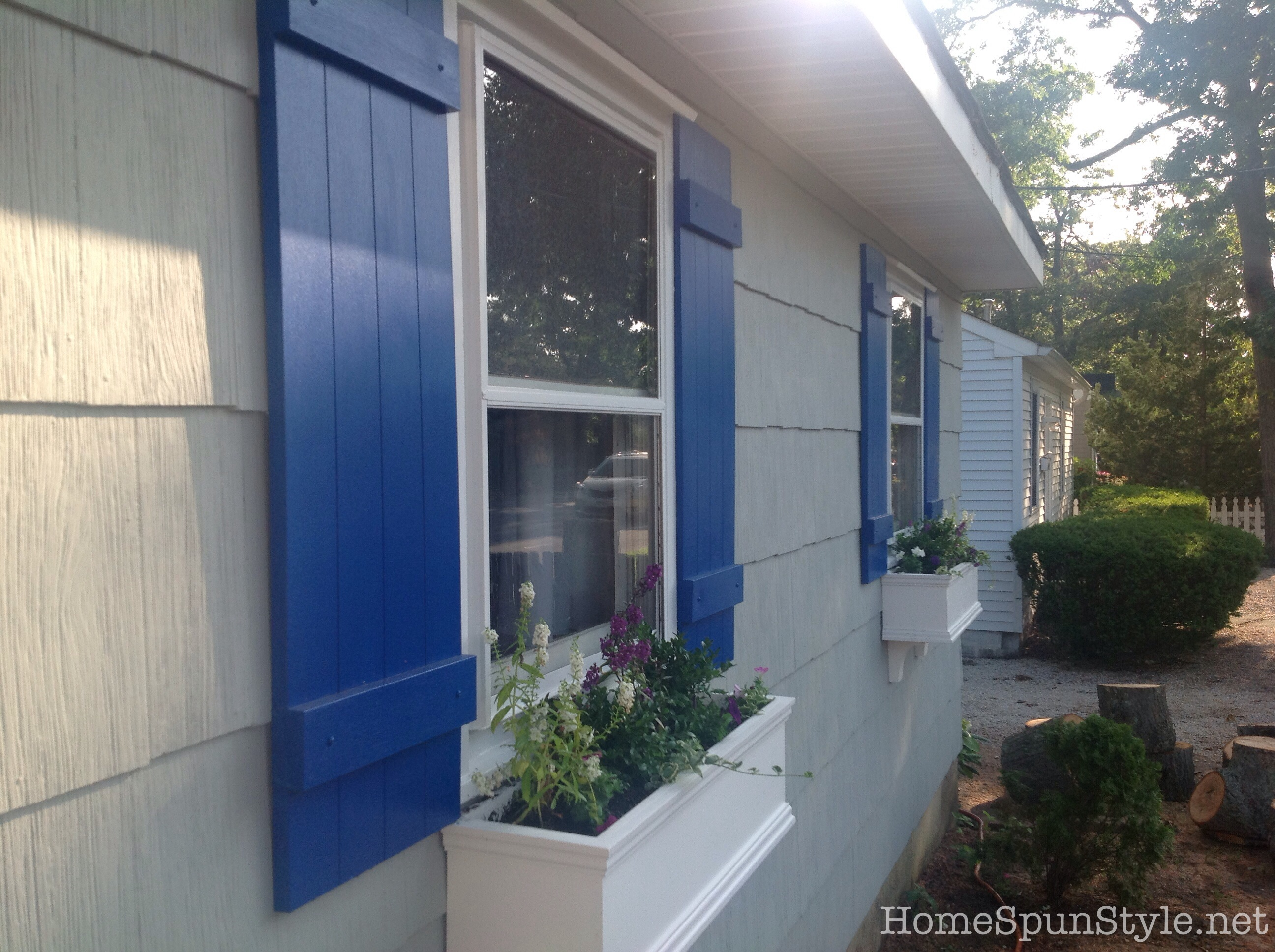 Beach house exterior color scheme home spun style - Coastal home exterior color schemes ...