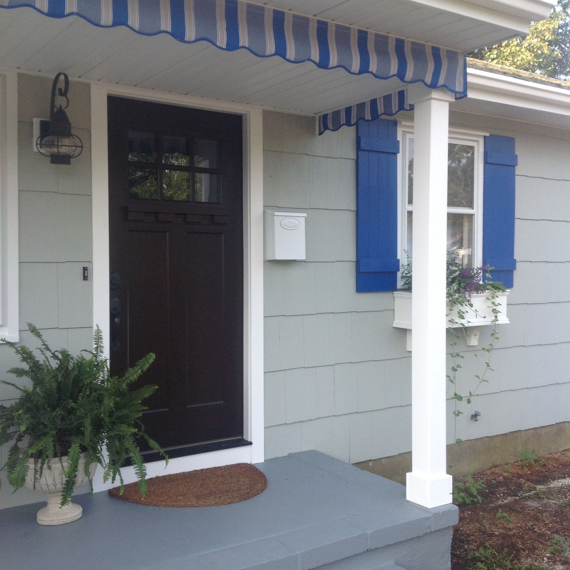 Awnings And Porch Valances Home Spun Style