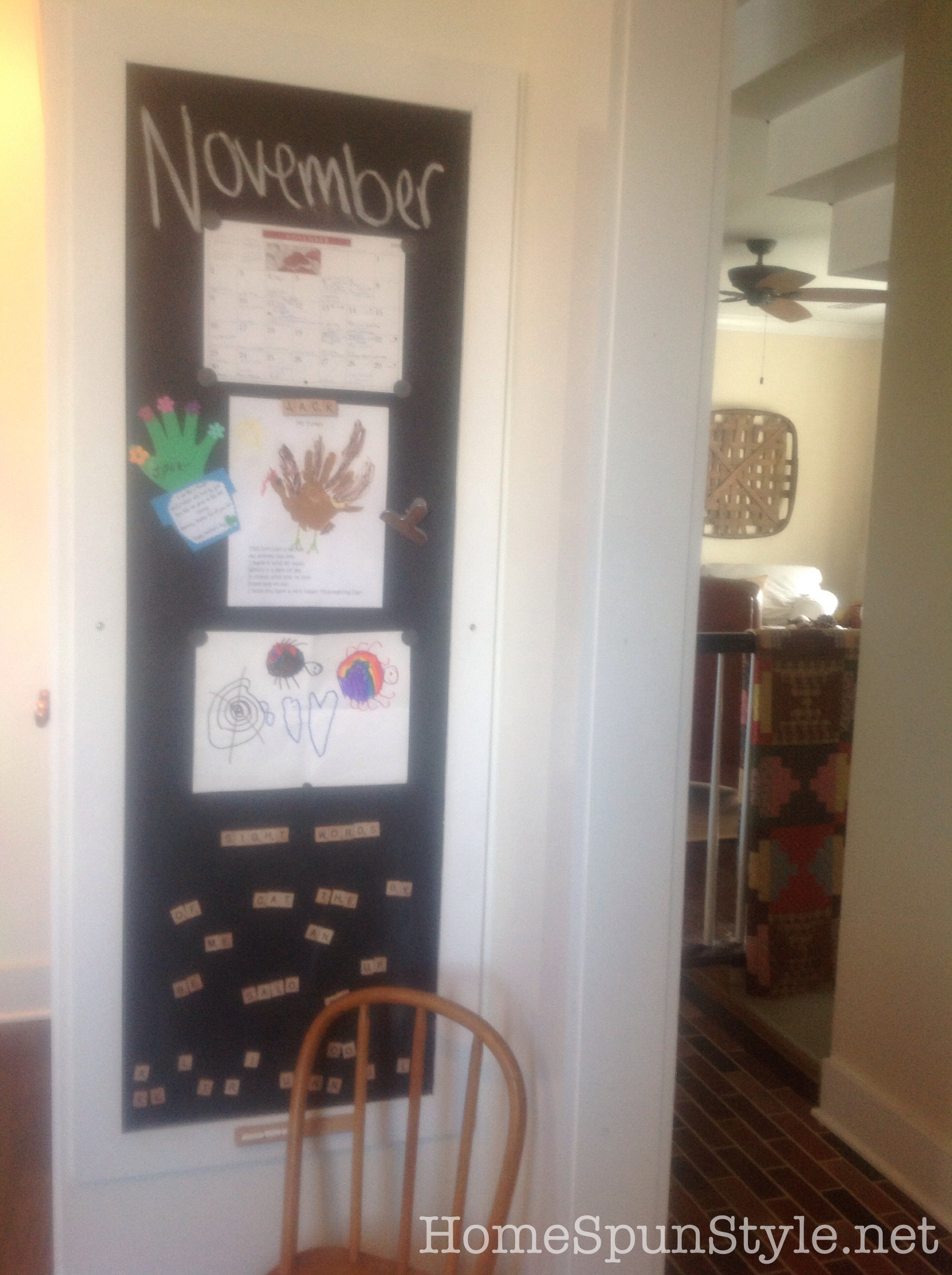 Magnetic Chalkboards and the Hope Christmas Market – Home Spun Style