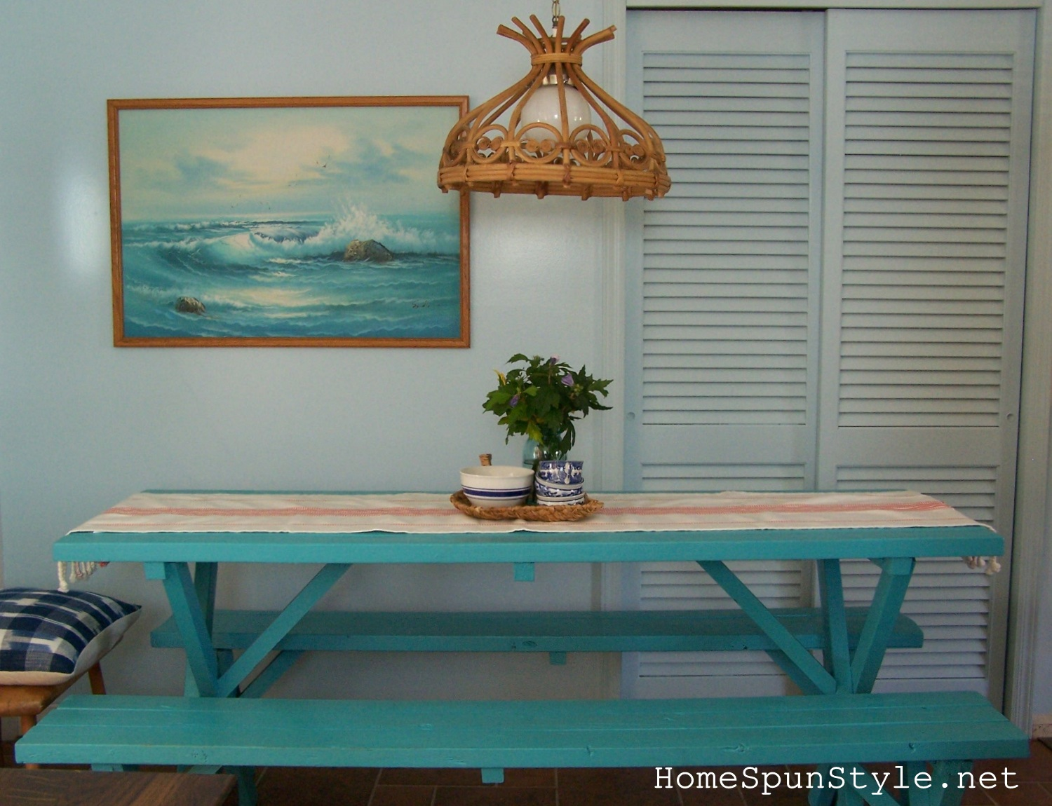 beach kitchen reveal before and after home spun style