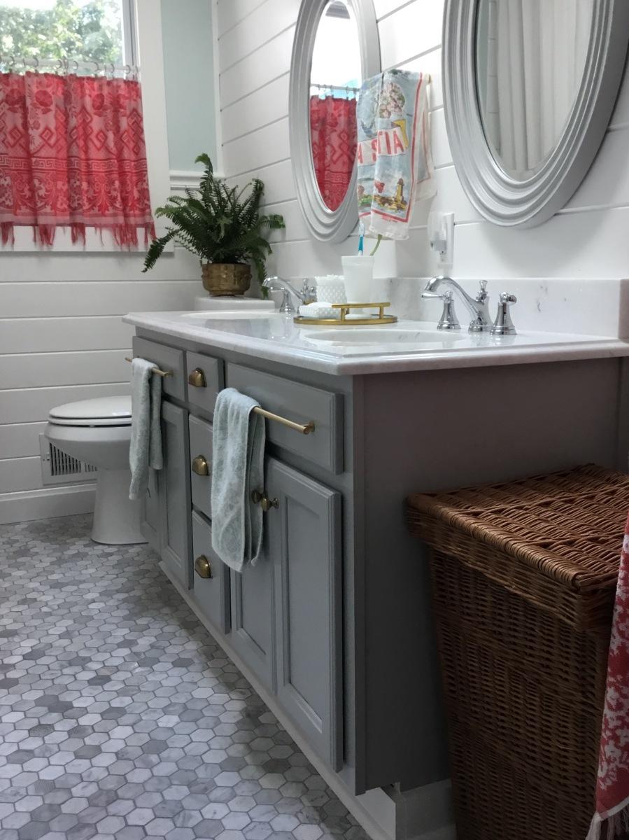 . Beach House Bathroom Budget Breakdown   Home Spun Style