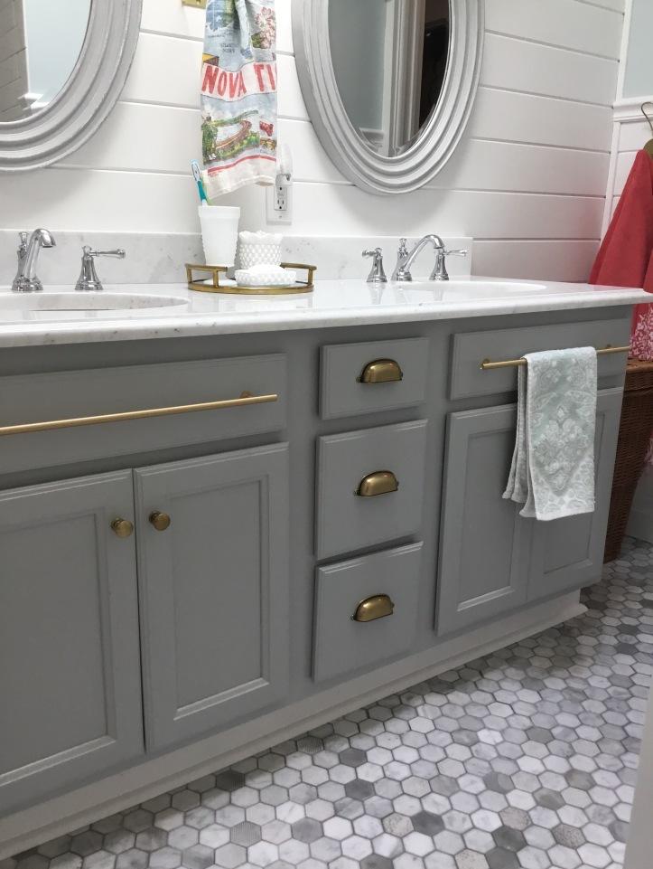 Beach House Bathroom Reveal Home Spun Style